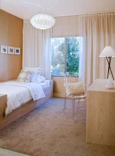 Love The Light Fixture And The Wall Of Drapes
