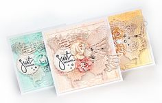 Crafting ideas from Sizzix UK: Butterfly monochromatic cards
