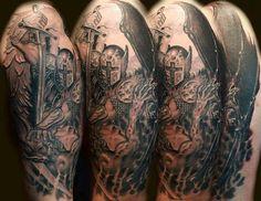 806645c1e law enforcement tattoos - Google Search Archangel Michael Tattoo, St  Michael Tattoo, Law Enforcement