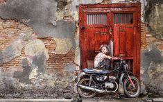 Penang Street Art by Eddy Wiriadinata
