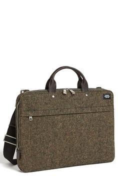 Jack Spade Donegal Tweed Slim Wool Briefcase available at #Nordstrom Simple, sleek and functional