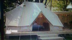 Sibley Bell double tent, hidden in the woods.... - VRBO