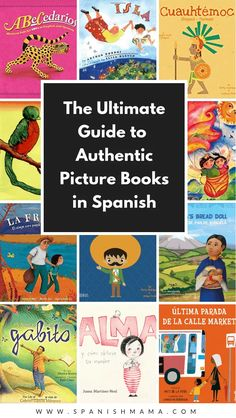 Authentic Spanish books for kids, written by native speakers. Find the best picture books in Spanish with this comprehensive guide! Spanish Language Learning, Teaching Spanish, Preschool Spanish, Spanish Activities, Spanish Teacher, Teaching French, Spanish Books For Kids, Bilingual Classroom, Bilingual Education