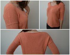 Je tricote le pull Fresh Start de Suvi Simola dans le cadre du KAL que j'organise sur ce projet.    Je le tricote en taille XS et en coloris Saumon.