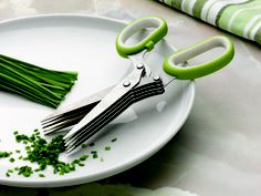 Herb Scissors, for all that cilantro and rosemary I love to use. I can't live without these!!!