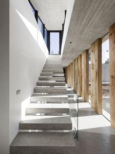scale cemento solo gradini