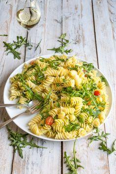 Lemon Rocket Pasta Salad