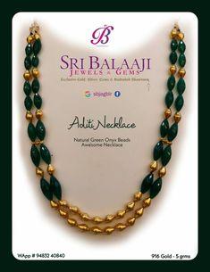 Jewelry Design Earrings, Gold Jewellery Design, Bead Jewellery, Fancy Jewellery, Agate Jewelry, Necklace Designs, Gold Jewelry For Sale, Gold Jewelry Simple, Gold Temple Jewellery