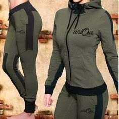 Legging Outfits, Sporty Outfits, Fleece Hoodie, Hooded Sweatshirts, Tracksuit Set, Moda Fitness, Womens Workout Outfits, Sweatshirt Dress, Long Hoodie