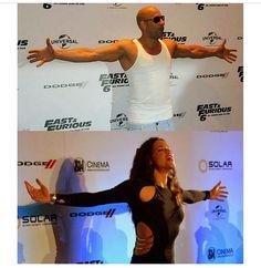 Vin Diesel & Michelle Rodriguez