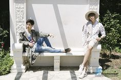 Mark + Youngjae - [STARCAST] GOT7's just right summer vacation! Shining seven boys' 'GOTCHA, PERFECT GETAWAY in LA'