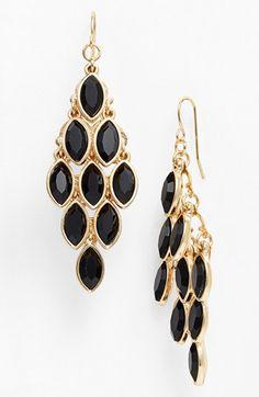 Tasha Crystal Chandelier Earrings available at #Nordstrom