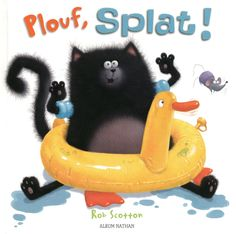 """""""Splish Splash Splat"""" Wins PAL Award for Language Learning Fun- Pinned by – Please Visit for all our pediatric therapy pins Splish Splash, Splat Le Chat, Learn To Swim, Worst Day, Swim Lessons, Story Time, Fun Learning, Audio Books, Childrens Books"""