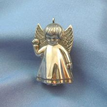 Angel sterling silver ornament Christmas