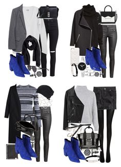 """how to style the topshop aba boots"" by florencia95 ❤ liked on Polyvore featuring H&M, Current/Elliott, Topshop, Proenza Schouler, Simply Vera, Christian Dior, Acne Studios, Karl Lagerfeld, Marc by Marc Jacobs and Wolford"