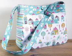Diaper Bag Pattern Petite Street Nappy Bag Sewing by SusieDDesigns