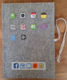 Felt Ipad mini case - PURSES, BAGS, WALLETS  - Knitting, sewing, crochet, tutorials, children crafts, jewlery, needlework, swaps, papercrafts, cooking and so much more on Craftster.org