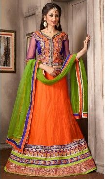 Deep Orange Color Net A Line Style Party Wear Lehenga Choli | FH479574053 #heenastyle, #designer, #lehengas, #choli, #collection, #women, #online, #wedding , #Bollywood, #stylish, #indian, #party, #ghagra, #casual, #sangeet, #mehendi, #navratri, #fashion, #boutique, #mode, #henna, #wedding, #fashion-week, #ceremony, #receptions, #ring , #dupatta , #chunni , @heenastyle , #Circular , #engagement