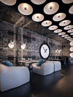 Фото — Ресторан Р — Дизайн интерьеров