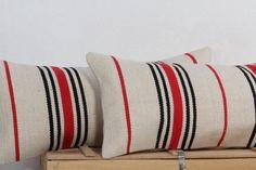 Pillow Set 2PCS  21x10 Handmade Kilim Pillow by AreaRugsKilims
