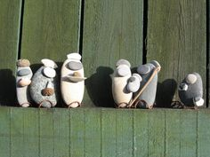 River Stone Nativity Set