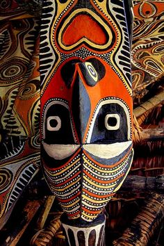 Oceania---Papua-New-Guinea-Art