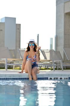 one piece swimsuit v