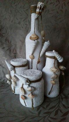 Witte Schelpen set