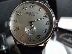 Zeno Watch Flatline-6493Q-e3, Ronda-SWISS-Quartz, NEU mit 2J. Herstellergarantie