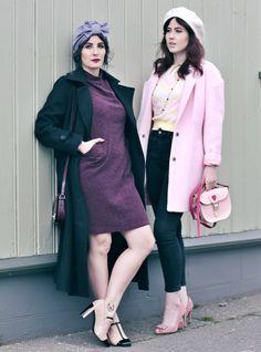Rosa kombinieren, Pink im Alltag, Rosa Kleidung, Retro Turban, 70er Mode modern, Best Friends Fashion, What to wear in Iceland, Fashionblog Iceland, Streetstyle Reykjavik, deutsche Modeblogs, Like A Riot