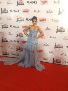 Actress Catherine Tresa at #Filmfare