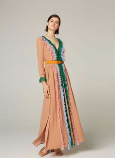 d40b3f0c2e Uterqüe United Arab Emirates Product Page - Ready to wear - Dresses and  Skirts - Multicoloured lace dress - 995