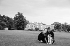 Andy & Helena's engagement photos at Himley Hall, Dudley | Mustard Yellow Photography