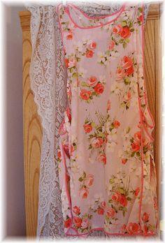 Sweet Pink Rose Apron
