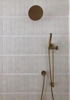 Home Interior Modern .Home Interior Modern Master Bath Tile, Bath Tiles, Textured Tiles Bathroom, Large Tile Bathroom, Bad Inspiration, Bathroom Inspiration, Minimalism Living, Glazed Brick, Bathroom Wall