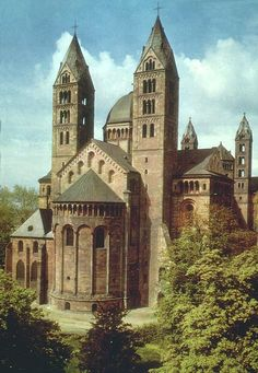 Speyer Cathedral  Speyer Germany Eight German emperors are buried in the cathedral's crypt