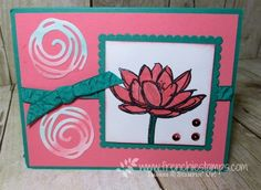 Stamp & Scrap with Frenchie: Stampin'Up! in color with Frenchie team Part 2