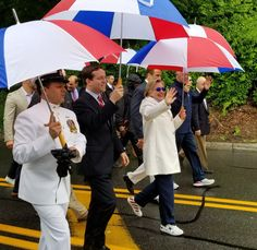 GO AWAY ALREADY  WHAT AN EGOTIST HILLARY 2020? Clintons appear in Chappaqua Memorial Day parade - The American MirrorThe American Mirror