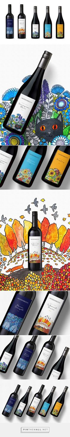 Weingut Heidenreich - Packaging of the World - Creative Package Design Gallery - http://www.packagingoftheworld.com/2016/05/weingut-heidenreich.html