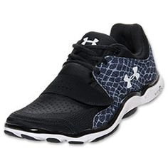 Women's Under Armour Renegade Running Shoes | FinishLine.com | Black/White/Charcoal