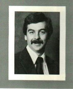 Joe Dente 1984 Riverside Yearbook Social Studies Teacher