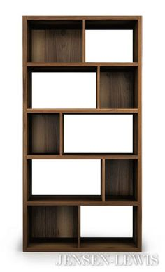 The Swan Bookcase at Jensen Lewis Furniture