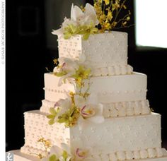 Real Weddings - Mimi & Winston: A Cultural Wedding in St. Louis, MO - The Cake