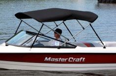 Shop Westland bimini tops for your boat make and model. Available in aluminum frame, nylon or stainless fittings, and Sharskin or Sunbrella® fabr Mastercraft Ski Boats, Boat Bimini Top, Boat Pics, Boat Stuff, Home Projects, Skiing, Aqua, Water Ski, Boating