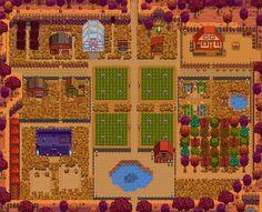 This is my #stardewvalley farm - a Pellius original~