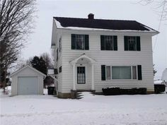 NICE AFFORDABLE HOME WITH 3 BEDROOMS AND 1.5 BATHS. FULL BASEMENT FOR EXTRA STORAGE. WONDERFUL LARGE LOT. AMPLE LIVING SPACE. NICE HARDWOOD FLOORS. DETACHED GARAGE. PRICED TO SELL!! in Stryker OH