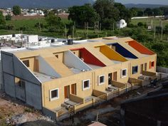 SPACE architects's affordable homes are defined by color
