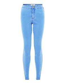 Jean disco ado bleu pâle   New Look