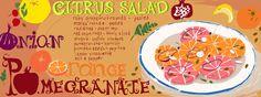 Citrus Salad by Sarah Nussbaumer
