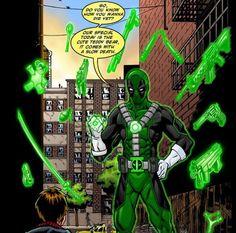 Deadpool X Green lantern